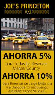 5% Off Coupon, Taxi Services in Princeton, NJ
